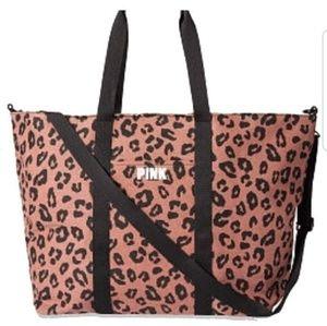 VS Pink Weekender Bag NWT